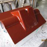 2. Schritt: Formbau Gelcoat